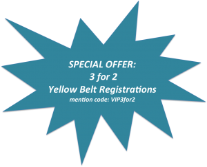 Special Offer Yellow Belt